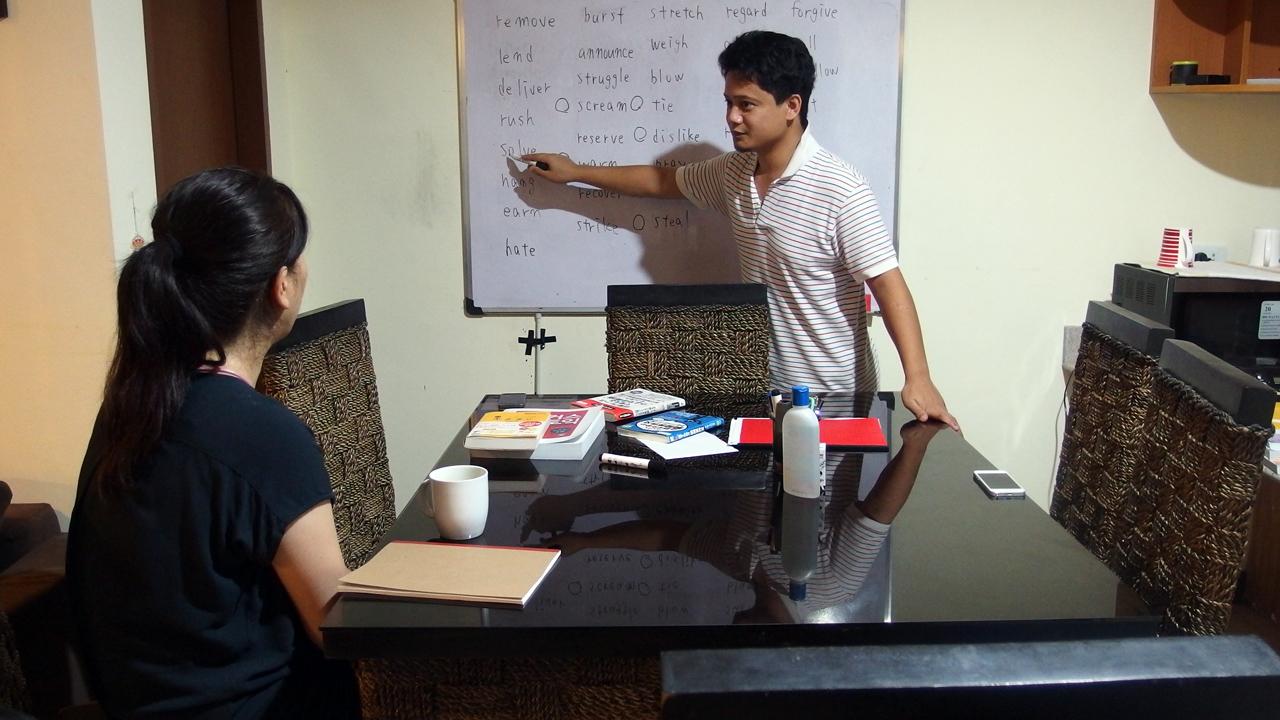フィリピン留学で単語道場