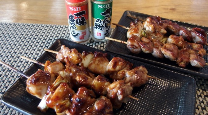 フィリピン留学の週末は日本料理屋で焼き鳥とビール!