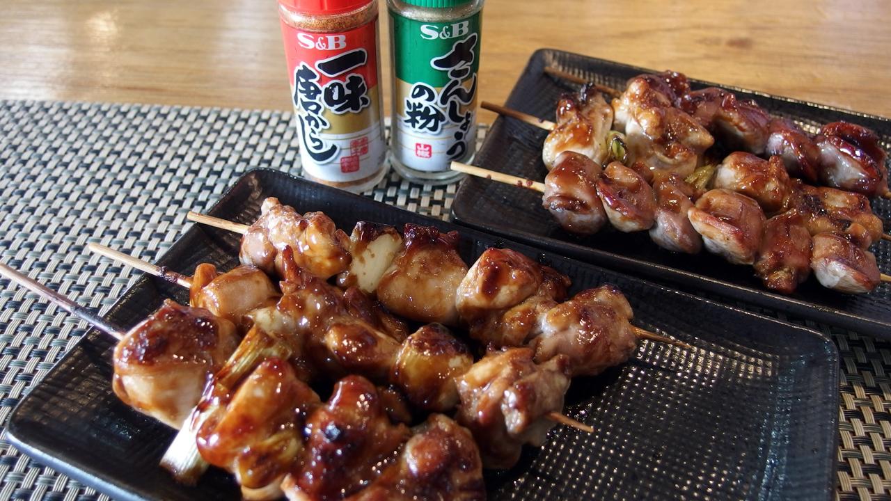 フィリピンの日本料理屋で焼き鳥