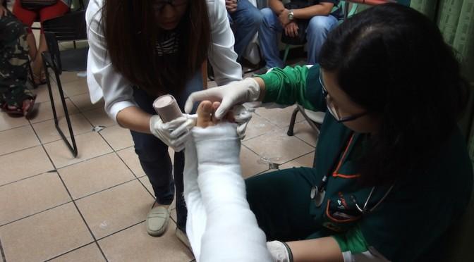 フィリピン留学でケガした時の、クレジットカード保険とか病院の診察料のはなし・・・。