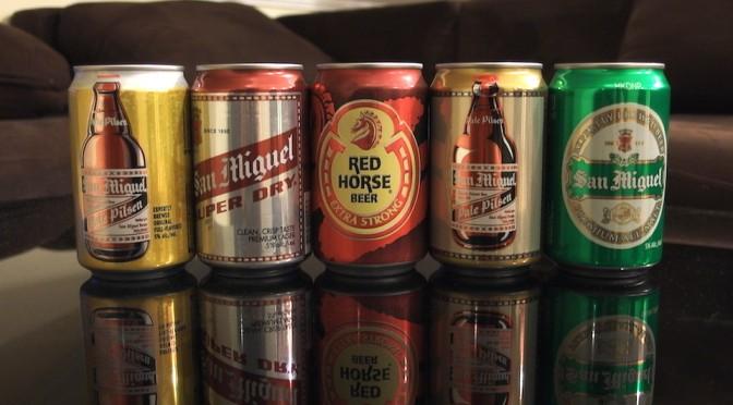 フィリピンのビール「サンミゲル」が週に一度のご褒美だが、諦めることにした。