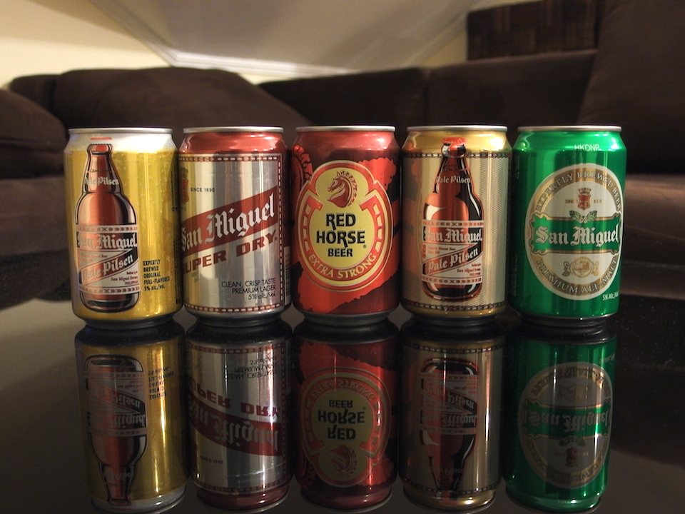 フィリピンのビール「サン・ミゲル」