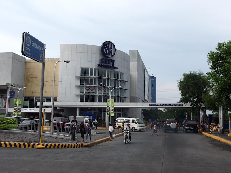 フィリピンの巨大ショッピングモールSMパラパラ