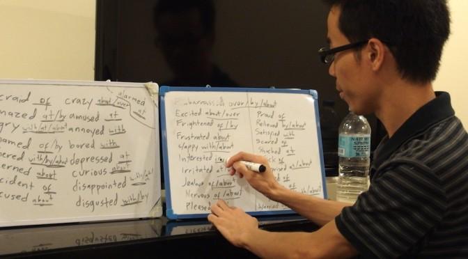 今日のフリークラスはTOEICのリーディングテストに役立つ勉強会でした。