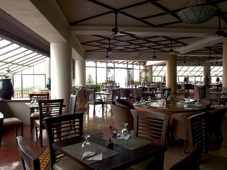 キャニオンウッズのクラブハウスにあるレストラン