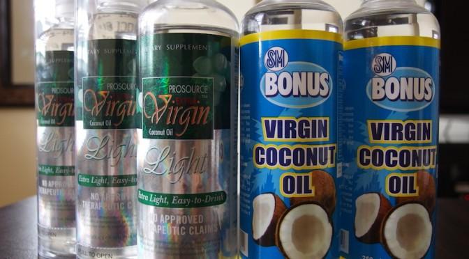 ダイエットに効果的なココナッツオイルを毎日飲んで、肌もしっかり保湿します!