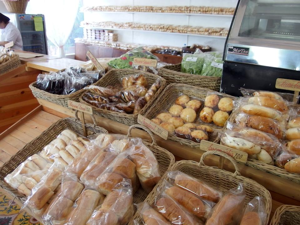 ソニアスガーデンのパン売り場