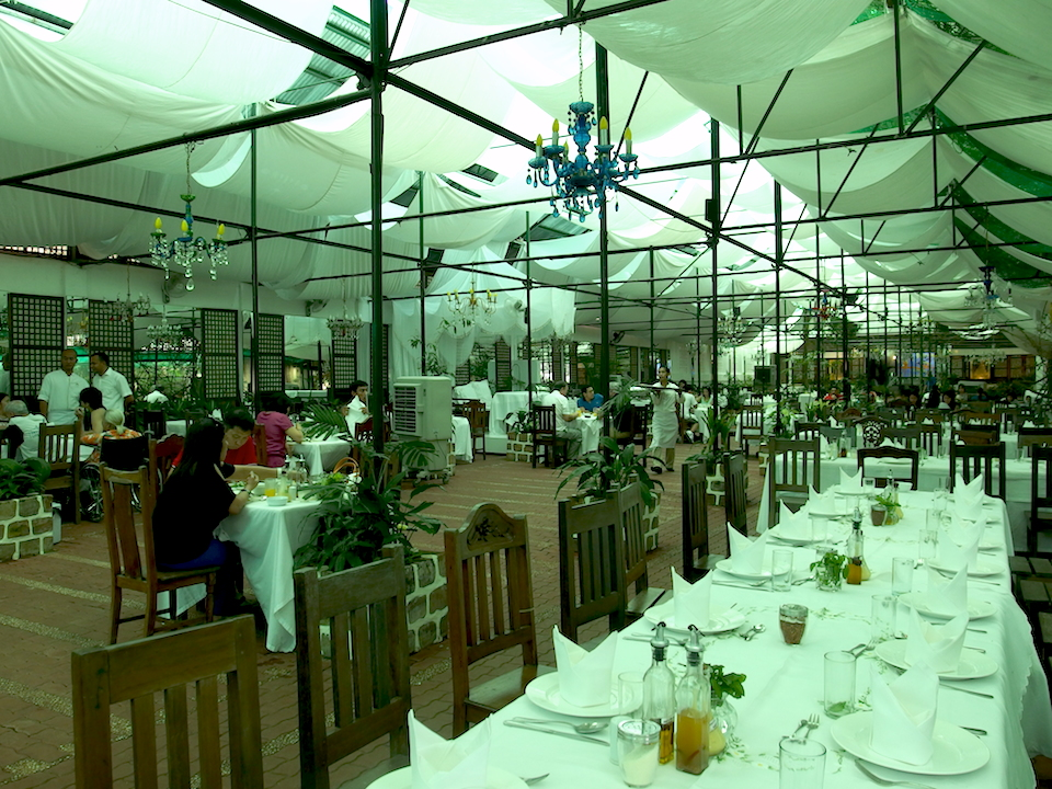 ソニアスガーデンのレストラン