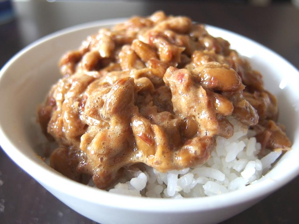 納豆ご飯久しぶり