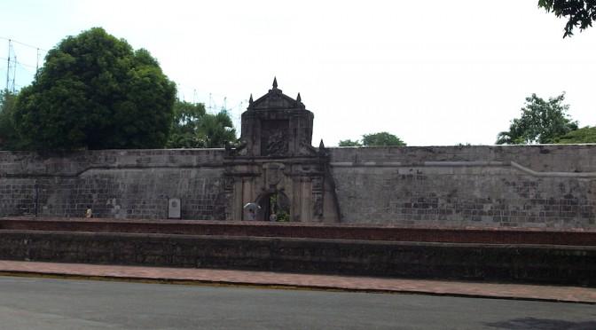 サンチャゴ要塞でフィリピンの歴史に触れる