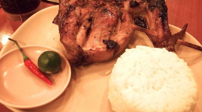 フィリピンの人気レストラン「Mang INASAL」のチキンBBQを食べてみた